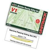 N V1 Mainline Passing Siding Set - Kato USA, Inc. - 208601