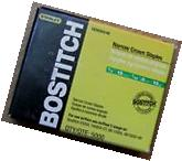 """Stanley Bostitch Narrow Crown Staples 3/4 """" Length Chisel"""