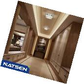 NATSEN  Crystal hanging lighting 12W LED Flush mount ceiling
