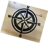 Nautical Compass metal wall art plasma cut decor