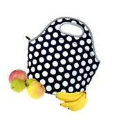 Neoprene Lunch Bag Tote - Insulated Waterproof Lunch Box for
