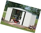Arrow Newburgh Shed 10x8 NW108-A Storage Shelter Galvanized