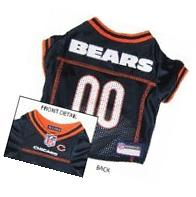 Pets First Official NFL Chicago Bears Jersey Medium