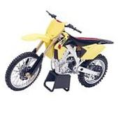NIB New-Ray 2014 Suzuki RMZ450 dirtbike motorcycle 1:12