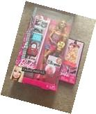 NIB Barbie Fashionistas Summer Doll w Dog & Accessories Plus