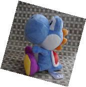 """Nintendo Super Mario Bros. sidekick Yoshi  6 1/2"""" PURPLE"""