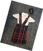 NIP 3 pc SCHOOL UNIFORM Dress Jumper Outfit Clothes for