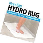 NEW Non Slip Hydro Rug Shower Bath Tub Mat Clean Carpet