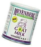 Meyenberg Nonfat Powdered Goat Milk Vitamins A & D 12 Ounce