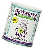 Meyenberg Nonfat Powdered Goat Milk, Vitamins A & D, 12