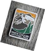 North Cascades National Park Souvenir Patch Traveler Series