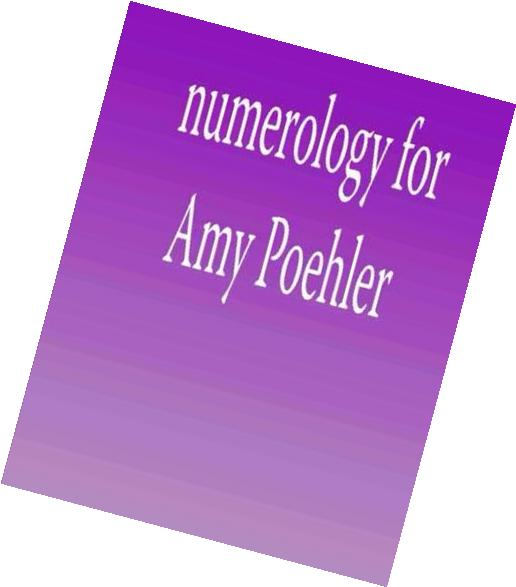 Numerology for Amy Poehler