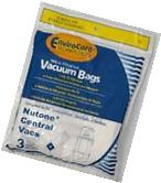 NuTone 391 Central Vacuum Bags 3 pack Made by Envirocare