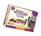 Rachael Ray Nutrish Natural Wet Cat Food Variety Pack - Fish