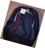 NWT Adidas Mission Plus Laptop Backpack Navy Blue Red Black