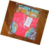 NWT! Charlie Banana hot pink reusable swim/training diapers