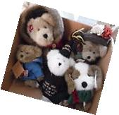 Lot of 5 NWTs Boyds Bears Near Perfect condition