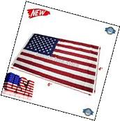 4x6 Nylon Waterproof Embroidered Stars Sewn Stripes Heavy