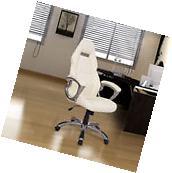 Office Chair Ergonomic Swivel Rocking High Back PU Executive