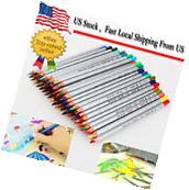 72 Color Oil Base Marco Fine Art Drawing Non-toxic Pencils