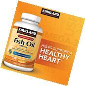 Kirkland Signature Omega-3 Fish Oil Concentrate 1000 mg 400