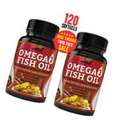 Omega 3 Fish Oil Supplement  - 2000mg Triple Strength Fish