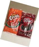 Orange Crush & Dr Pepper Twists Licorice 5oz Bags 1 Bag Each