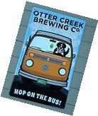 Otter Creek Brewing Craft Beer Sign with Bernese Mountain