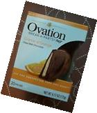 2 x Ovation Creme d'Orange Milk Chocolate Break-A-Part Ball