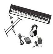 Yamaha P-45 Ultra Platinum Keyboard Package With Accessories