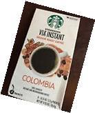 Lot of 100 Packets Starbucks Via Columbia Blend! Exp Sept