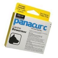 Panacur 1 Gram C Canine Dewormer 3x1 Gm