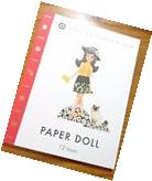 NEW Victoria Beckham for Target Paper Doll Book 12 pages