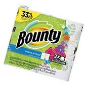 Bounty Paper Towels, Select-A-Size, Print, 2 Big Rolls