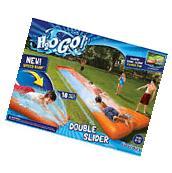 Inflatable Water Slide Double Pool Kids Park Backyard Splash