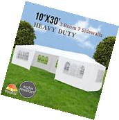10'x30' Party Tent Wedding Gazebo Pavilion Cater Marquee