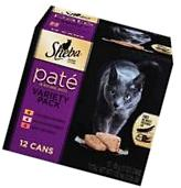 SHEBA PREMIUM PATE in Natural Juices Variety Pack-12 ct.