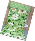 Outdoor Patio Chair Cushions ~ Green Floral Medallion ~ 18