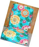 Outdoor Patio Chair Cushions ~ Suzani Butterfly ~ 20 x 43.5