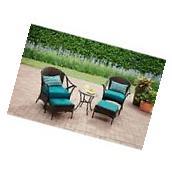 Patio Furniture Conversation Set Outdoor 5 Piece Wicker