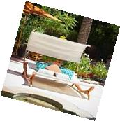 Outdoor Patio Furniture Modern Design Chaise Lounge Sunbed