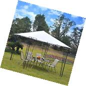 10x10FT Outdoor Patio Gazebo Canopy Party Tent Steel Oxford