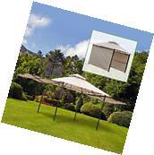10'x10' Patio Gazebo Outdoor Garden Canopy Tent Sun Shade