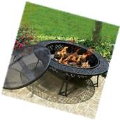 Large Fire Pit Table Patio Heater Outdoor Furniture Stove