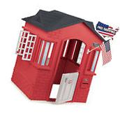Patio Outdoor Playhouse Pretend Play House Home Cottage