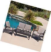 2 PCs Patio Rattan Wicker Chairs Outdoor Garden Steel Frame