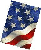 """""""Star Spangled Banner"""" 28"""" x 40"""" Patriotic House Flag by"""