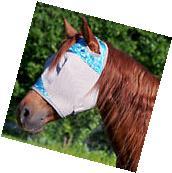 CASHEL PATTERN CRUSADER HORSE COMFORT PROTECTION FLY MASK
