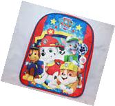 Paw Patrol Toddler Backpack Blue Small School Bookbag