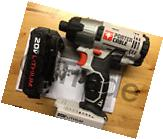Porter-Cable PCC641 20V 1/4in Impact Driver & Li Battery